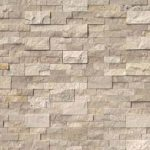 Roman Beige stacked stone